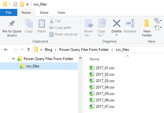 Power Query Get Files from a Folder • My Online Training Hub
