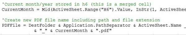 VBA Code for CurrentMonth Before Changes
