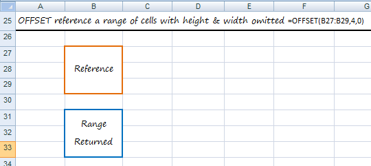 reference a range of cells with height and width omitted