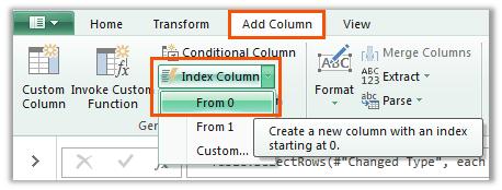 add an index column