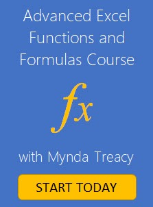 advanced excel functions and formulas course