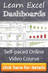 Excel Dasboard Course
