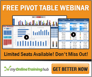 Excel Pivot Table Webinar