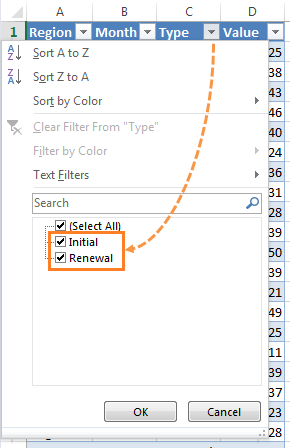 PivotTable calculated items