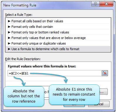 Excel Conditional Formatting with Formulas • My Online Training Hub