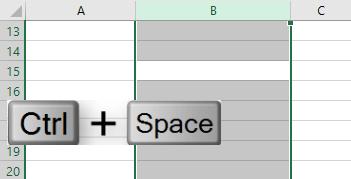 Ctrl+Space