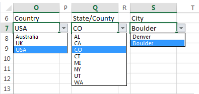 excel dependent data validation lists example USA