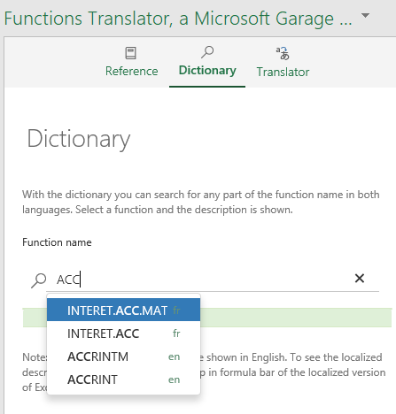 Excel Functions Translator • My Online Training Hub