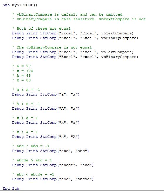 Excel VBA String Functions • My Online Training Hub