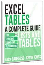 Excel Tables book
