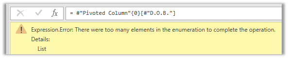 Expression Error