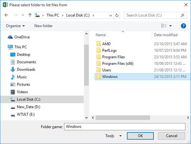 Finding File Meta Data Using FileSystemObject