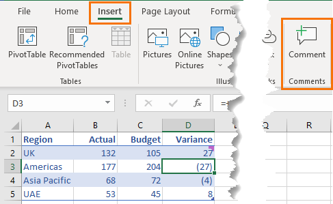 Excel Threaded Comments • My Online Training Hub