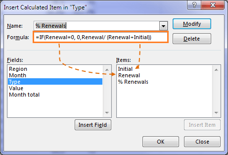 Excel Pivottable Calculated Items By Position My Online