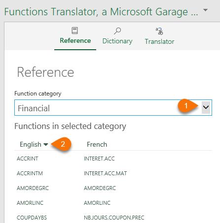 Excel Functions Translator • My Online Training Hub