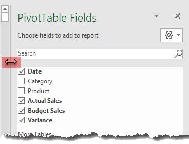 Excel Pivottable Field List Tips My Online Training Hub
