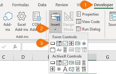 Excel Scroll and Sort Table • My Online Training Hub