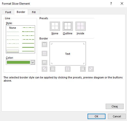 Excel Slicer Formatting • My Online Training Hub
