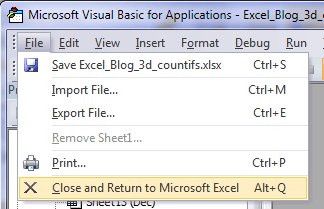Excel Sheet Name List Macro