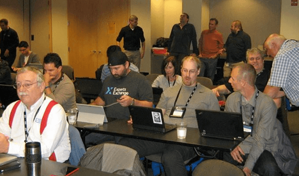Microsoft MVP summit snap 2