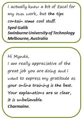 Microsoft Office Training Testimonials 3