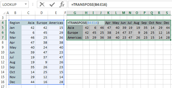 transpose in excel  Transpose Data in Excel • My Online Training Hub
