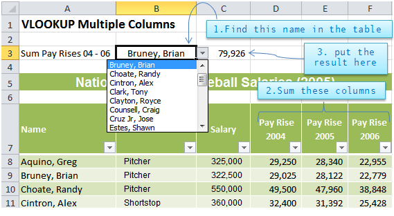 Excel VLOOKUP Multiple Values • My Online Training Hub